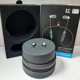 Наушники и Bluetooth-гарнитуры - Оригинальные Sennheiser M2 IEBT SW беспроводные, 0