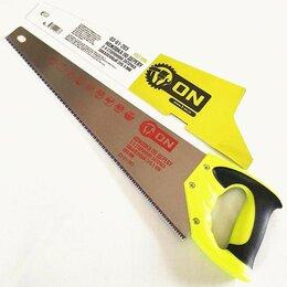Пилы, ножовки, лобзики - 3-ON Ножовка по дереву, 3-х сторонняя заточка, закаленный зуб 5 мм, 450 мм, 0..., 0