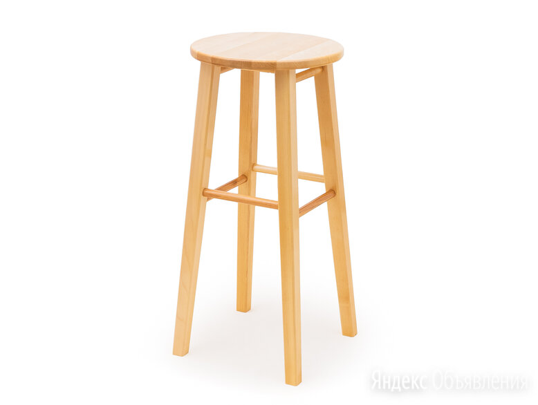 Табурет барный круглый - КМ023Б по цене 2590₽ - Мебель для кухни, фото 0