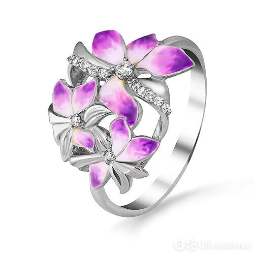 3647004035л-2 Кольцо (Ag 925) (17.5) Алмаз-Холдинг по цене 2432₽ - Кольца и перстни, фото 0