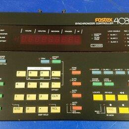 Оборудование для звукозаписывающих студий - Fostex 4035 synchronizer controller, 0