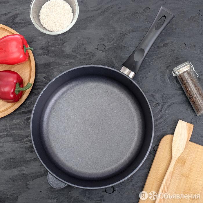 """Сковорода 28 см """"Титан. Особенная"""", несъёмная ручка по цене 4232₽ - Сковороды и сотейники, фото 0"""