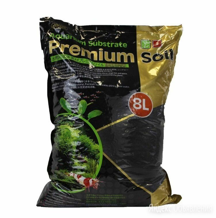 Грунт ista aquarium substrate premium soil 1-3 мм 8 л по цене 3800₽ - Грунты для аквариумов и террариумов, фото 0