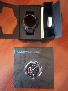 Умные часы и браслеты - Смарт часы HONOR Watch GS Pro чёрные, 0