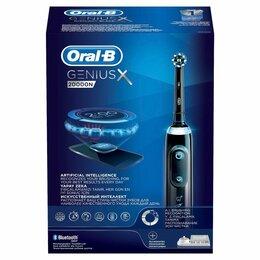 Электрические зубные щетки - Зубная щетка Oral-B Genius X 20000N Black D706.515, 0