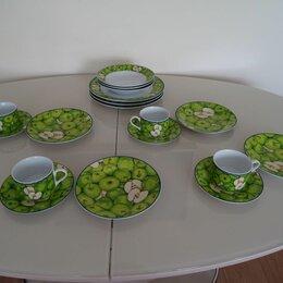 Сервизы и наборы - Столовый сервиз carine erine Чайный керамика Яблоки - 4 персоны, 0