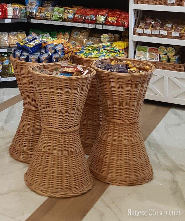 Корзины плетеные напольные для магазинов по цене 4500₽ - Прочие услуги, фото 0