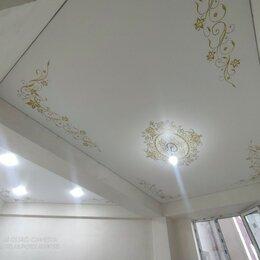 Потолки и комплектующие - Натяжные потолки с орнаментом, 0
