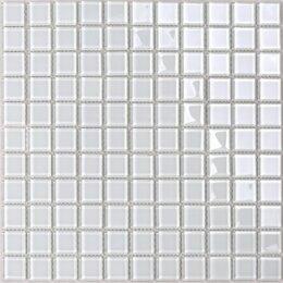 Мозаика - Мозаика Tessare 30,5х30,5х0,4см стекло белый шт(HJM07), 0
