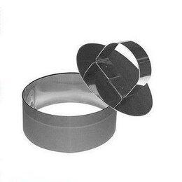 Кондитерские аксессуары - Кулинарная форма Круг - 10х4,5 см с прессом, 0