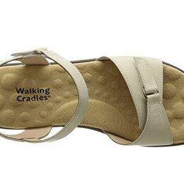 Босоножки - Продам новые босоножки, комфорт, кожа, Walking Crad, 41 размер, СПб, 0
