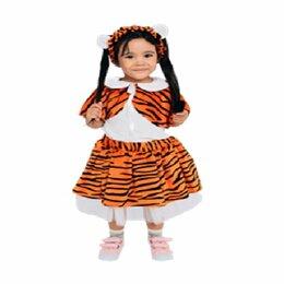 Карнавальные и театральные костюмы - Костюм детский Тигр (для девочки) (110 см), 0