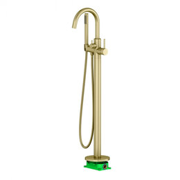 Краны для воды - Напольный смеситель для ванны Timo Saona, 0
