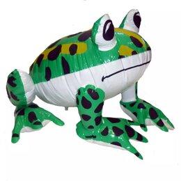 Рекламные конструкции и материалы - Надувная фигура Лягушка большая 40см, 0