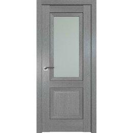 Межкомнатные двери - Дверь межкомнатная Profil Doors 2.88XN Грувд серый - со стеклом, 0