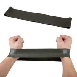Эспандеры и кистевые тренажеры - Резинка для фитнеса черная, 0