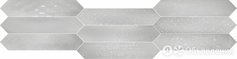 QUINTESSENZA Sfumature Effetti Grigio Lucido 6,5X33 по цене 4664₽ - Керамическая плитка, фото 0