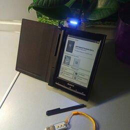 Планшеты - Sony PRS T1+Чехол(свет)+стилус+led  [fb2 pdf mp3 итд], 0