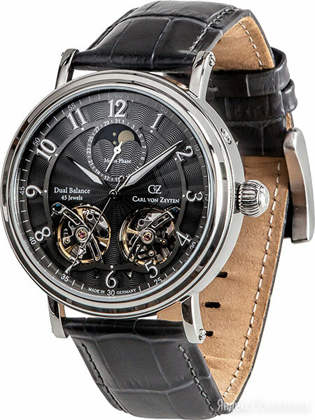 Наручные часы Carl von Zeyten CVZ0054GY по цене 43550₽ - Наручные часы, фото 0