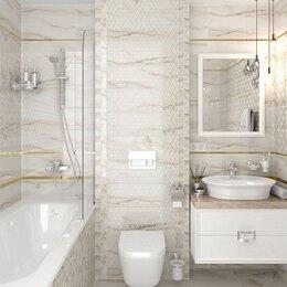 Керамическая плитка - Кафельная плитка в ванную 20х60, 0