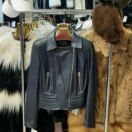 Куртки - Куртка кожаная р-р 46, 0
