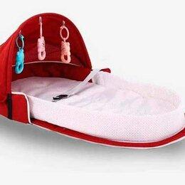 Транспортировка, переноски - Складная сумка-переноска для ребенка (бордо), 0