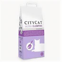 Наполнители для туалетов - CITYCAT ULTRA наполнитель комкующийся 5л , без ароматизатора , 0