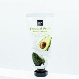 Уход за руками - Крем для рук с авокадо и маслом ши FarmStay Tropical Fruit Hand Cream Avocado, 0