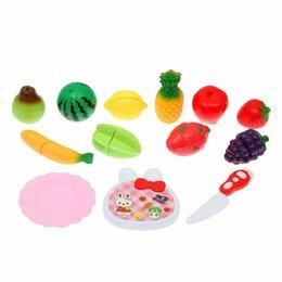 """Наборы для пикника - Набор продуктов для нарезки на липучках """"Фруктово-овощной микс-3"""", 0"""