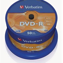 Диски - Диски DVD-R Verbatim 50шт cake, 0
