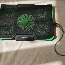 Аксессуары и запчасти для ноутбуков - Подставка для ноутбука CROWN CMLS-k332 GREEN, 0