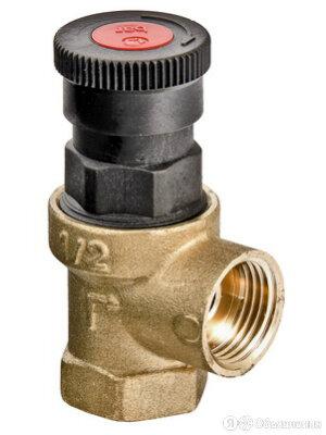 """Предохранительный клапан 1/2"""" Valtec до 3 атм. (20/120) VT.0490.IG.0430 по цене 725₽ - Водопроводные трубы и фитинги, фото 0"""