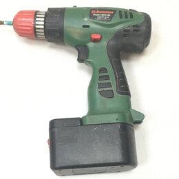 Дрели и строительные миксеры - Дрель-шуруповерт hammer ACD144, 0