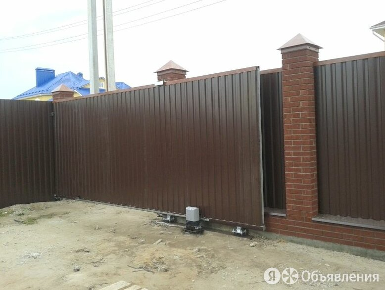 Откатные ворота по цене 49400₽ - Заборы, ворота и элементы, фото 0
