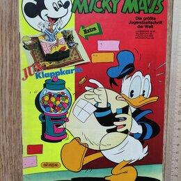 Комиксы - журнал комикс Мики Маус, номер 17, 1986 год, 0