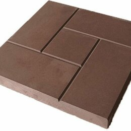 "Тротуарная плитка, бордюр - Тротуарная плитка ""Калифорния квадрат"" 300х300х30, 0"