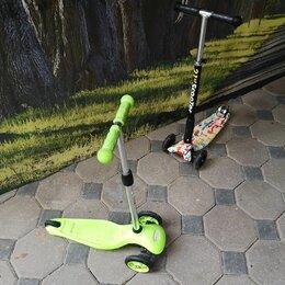 Самокаты - Самокат детский  scooter, 0