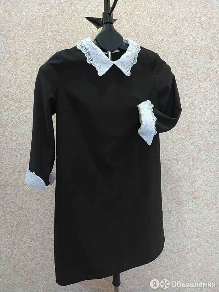 Школьное платье чёрное, р-р 38-40 по цене 250₽ - Комплекты и форма, фото 0