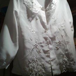 Рубашки и блузы - Школьная кофта с вышивкой, 0