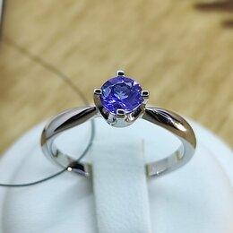 Кольца и перстни - Золотое кольцо с Танзанитом, 0