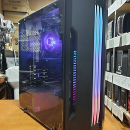 Настольные компьютеры - Компьютер игровой Intel Core i5-3570/8G/SSD/1050Ti, 0