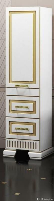 Пенал OPADIRIS Оникс левый белое золото по цене 32564₽ - Кровати, фото 0