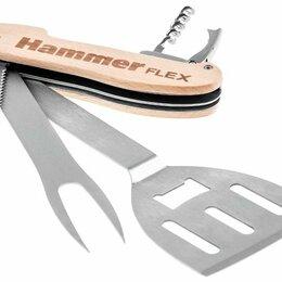 Пилы, ножовки, лобзики - Мультитул для гриля Hammer flex 310-310, 5 инструментов в одном, 0