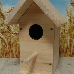 Клетки и домики - Скворечник, кормушка для птиц, 0