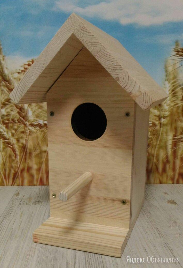Скворечник, кормушка для птиц по цене 350₽ - Клетки и домики, фото 0