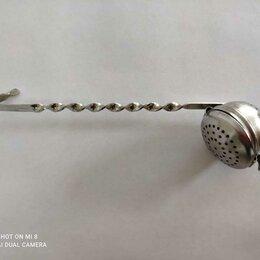 Аксессуары - Удобное ситечко для заварки кольчугинский мельхиор, 0