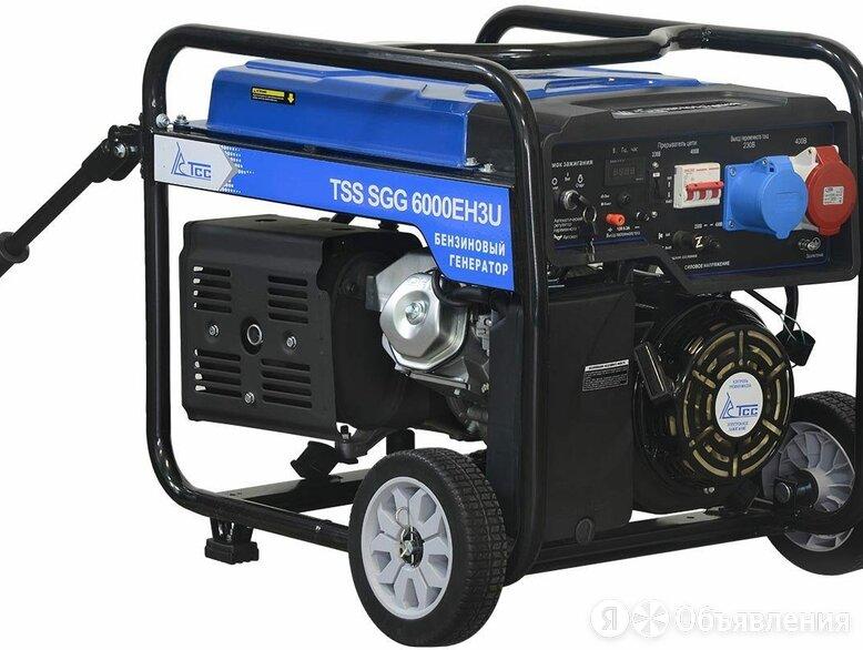 Бензиновый генератор TSS SGG 6000 EH3U по цене 52335₽ - Электрогенераторы и станции, фото 0