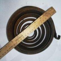 Уголки, кронштейны, держатели - Пружина противовеса Диаметр внешний 160 внутренний 36 ширина 50 загиб наружу, 0