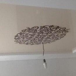 Потолки - Матовый натяжной потолки, 0