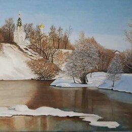 Картины, постеры, гобелены, панно - Соколова Луиза.Картина холст масло 60-80 см, 0